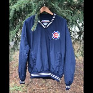 Russell Athletic Chicago Cubs Pullover Windbreaker